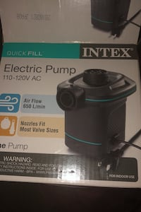 Electric inflate pump