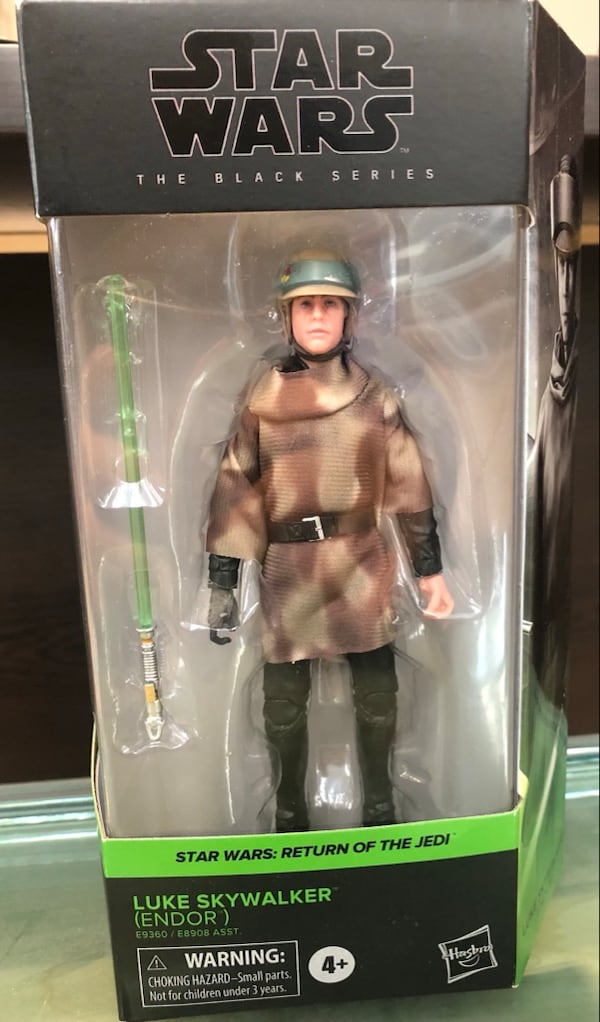 Star Wars The Black Series Luke Skywalker Endor aaaf4118-513b-4eeb-b12a-b2b9ceb20f9e