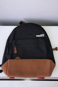 Contiki #NoRegrets Backpack - Black And Brown Philadelphia, 19103