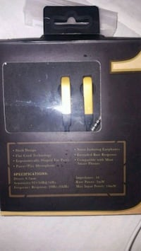 Classic Gold earphones remote microphone