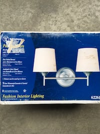 Brushed Nickel Double Sconce Chicago, 60618
