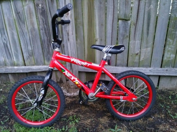 "Child's ""NEXT ROCKET"" 16in. Bicycle 0a35747c-5ac8-47d6-9691-4024c1495010"
