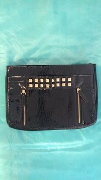 Black leather clutch Vaughan, L4J 0G8