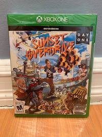 Xbox One Sunset Overdrive Brand New Sealed New York, 10473