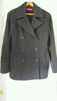 Anne Klein wool pea coat