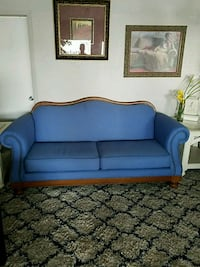 blue fabric 2-seat sofa Saint Petersburg, 33709