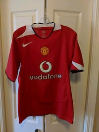 Soccer jerseys, various sizes and prices.  Edmonton, T5N 0L2