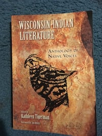 Wisconsin Indian literature textbook Poynette, 53955