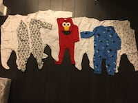 6-9 months unisex onesies like new 4$ each Mississauga, L5B
