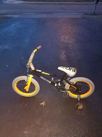 black and yellow BMX bike Manassas, 20112