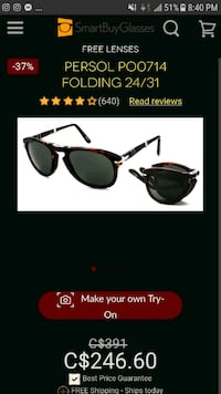 PERSOL sunglasses made in Italy Richmond, V6Y 1P6