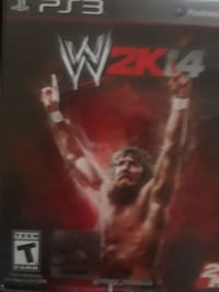 WWE 2K14 PS3 game case Middletown, 10940