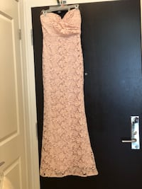 Pink Lulus dress Markham, L3R