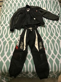 Girls small motor cross protective jacket and pants. Joe Rocket jacket and Fox Racing pants