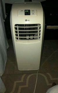 white LG portable air cooler Montréal, H8Z 1P7