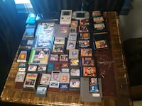 Bunch of old video games