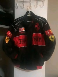 Mens large Ferrari jacket 3153 km