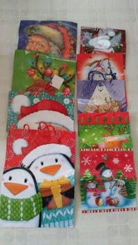 9 Holiday Gift Bags 4 Large 5 Small Evansville