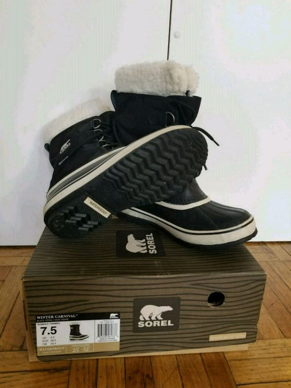 Almost new lady's SOREL winter boots. Size 7.5 ee90888d-8012-4fad-8280-8325304e6606