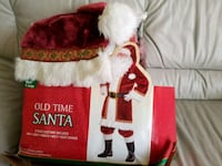 Professional Old Santa Suit Adult Christmas Deluxe Rolling Meadows, 60008
