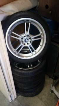 Platinum rims in very good shape 17 inch rims asking wholesale price