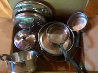 Stainless steel pots and pans Sevierville, 37876