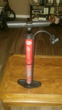 red and black Bell bicycle floor pump Ogden, 84401