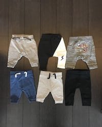 0-3 months baby pants like new 2for5$ or lot for 12$ Mississauga, L5B