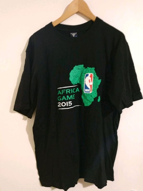 Very Rare NBA Africa Game 2015 shirt 1920bdfd-fbe6-46c4-8698-e83b2be80d39