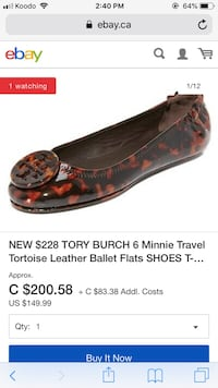 Authentic Tory Burch Guelph, N1E 7G1