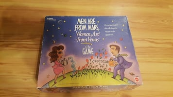 GAME Men Are From Mars  Women Are From Venus