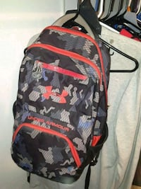 black, gray, and red backpack Lubbock, 79407