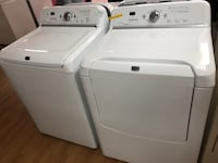 Maytag white washer and dryer set 47 km