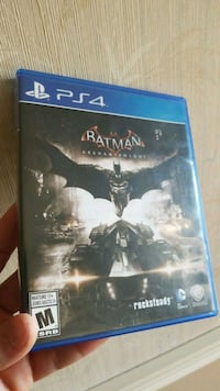 Batman Arkham Knight PS4 game case