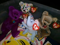 Beanie Babies all five 100 Deer Park, 77536