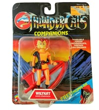 RARE New LJN Toys Thundercats Companions Series Wilykat Action Figure Open Card Chicago