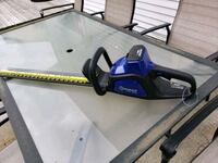 Kobalt 40-Volt Max 24-in Dual Cordless Hedge Trimmer Battery Included