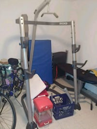 Weider Pro Fitness Rack 200 Silver Spring, 20902