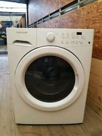 white front-load clothes washer Toronto, M2J 3C7