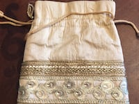 Handmade ladies Gold handbag for evening or parties Maple Ridge, V4R 2W6