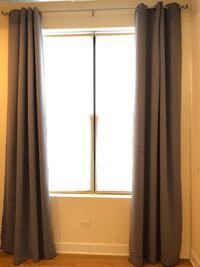 Insulated Blackout curtains Chicago, 60647