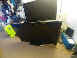 """Sanyo 55"""" LED TV 120hz DP55D44 with Stand & Remote"""
