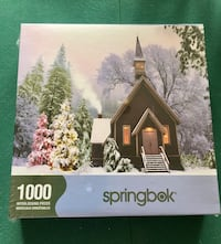 Brand new 1000 piece jigsaw puzzle