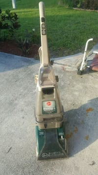 gray and blue Hoover upright vacuum cleaner Port St. Lucie, 34983