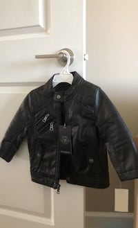 Jacket leather 2T Justice, 60458