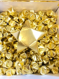 200 small origami gold foil stars Mississauga, L5P