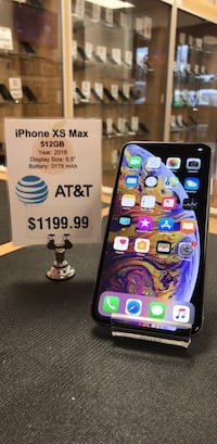 AT&T iPhone XS Max 512GB Fleming Island, 32003