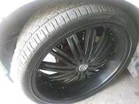 Rims and tires26 inch 6 lug on a armada   North Las Vegas, 89086