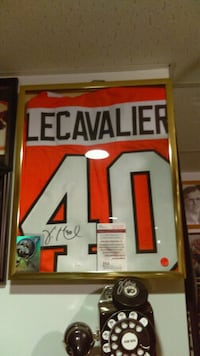 Orange and White autographed  Flyers jersey  Pennsburg, 18073