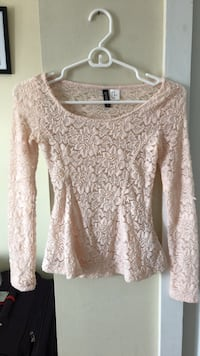 Light pink top - perfect for late summer